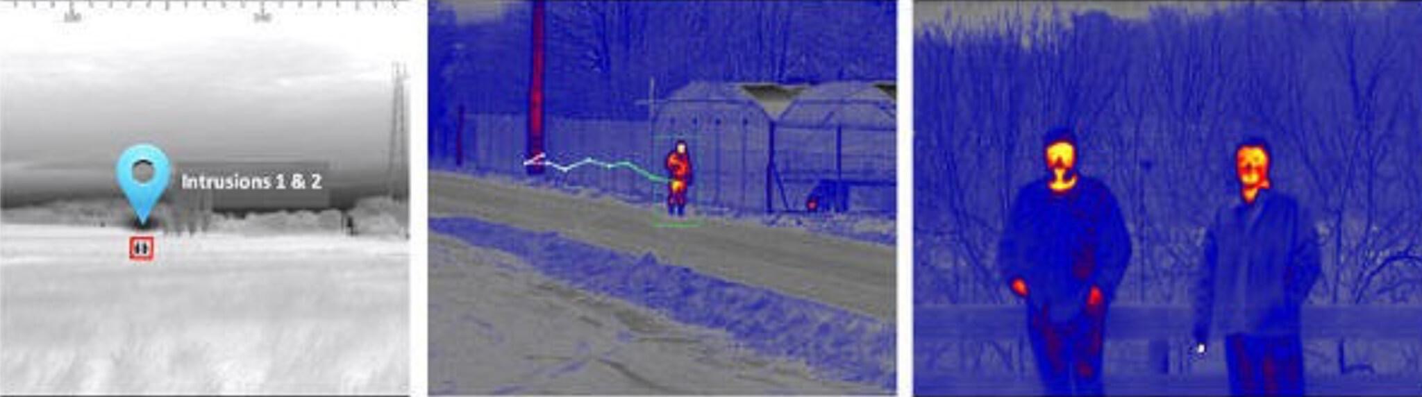 Thermal cameras in DRI