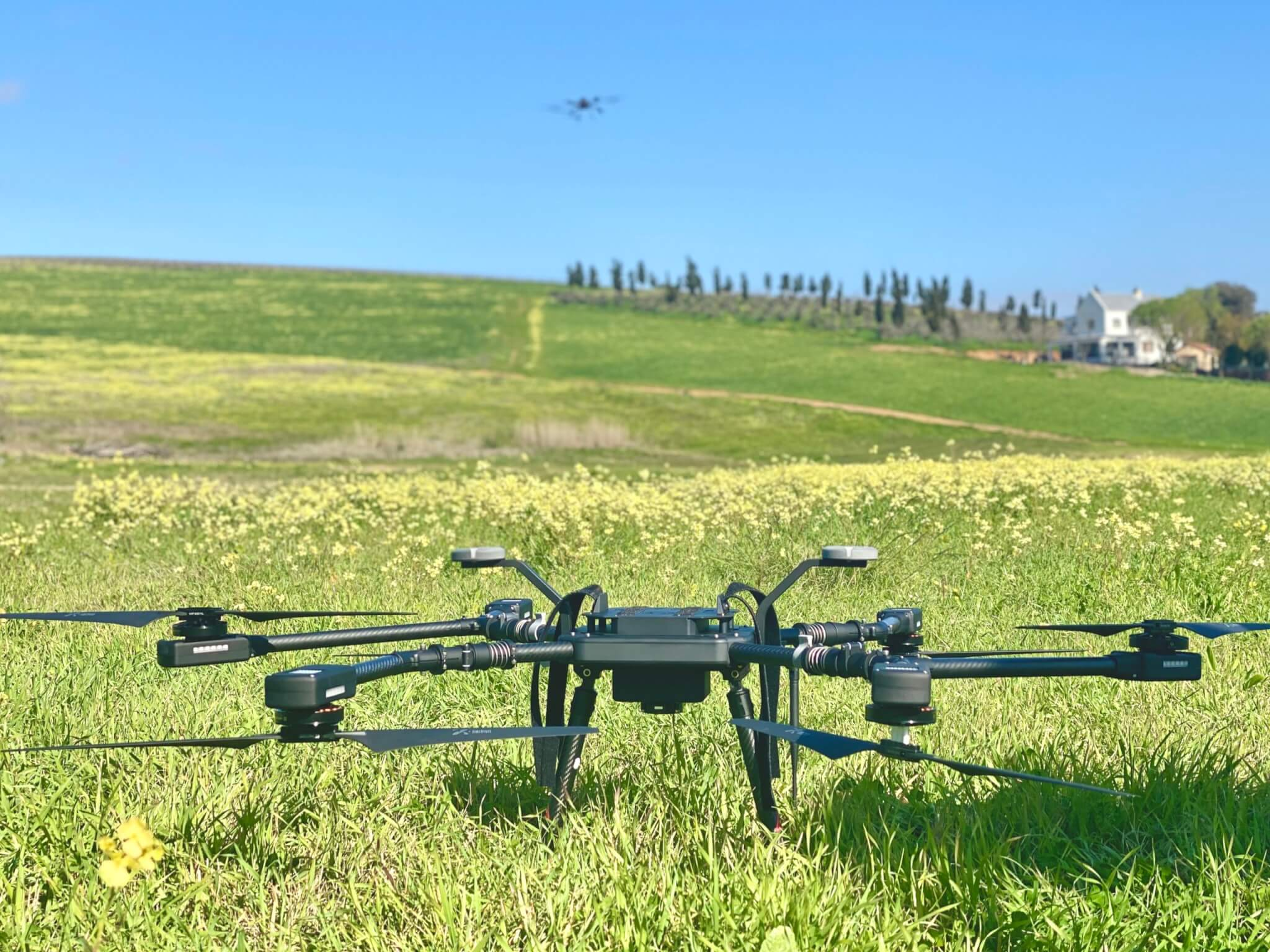 drone for detecting weeds