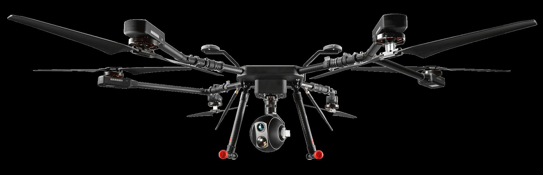 Long range quadcopter