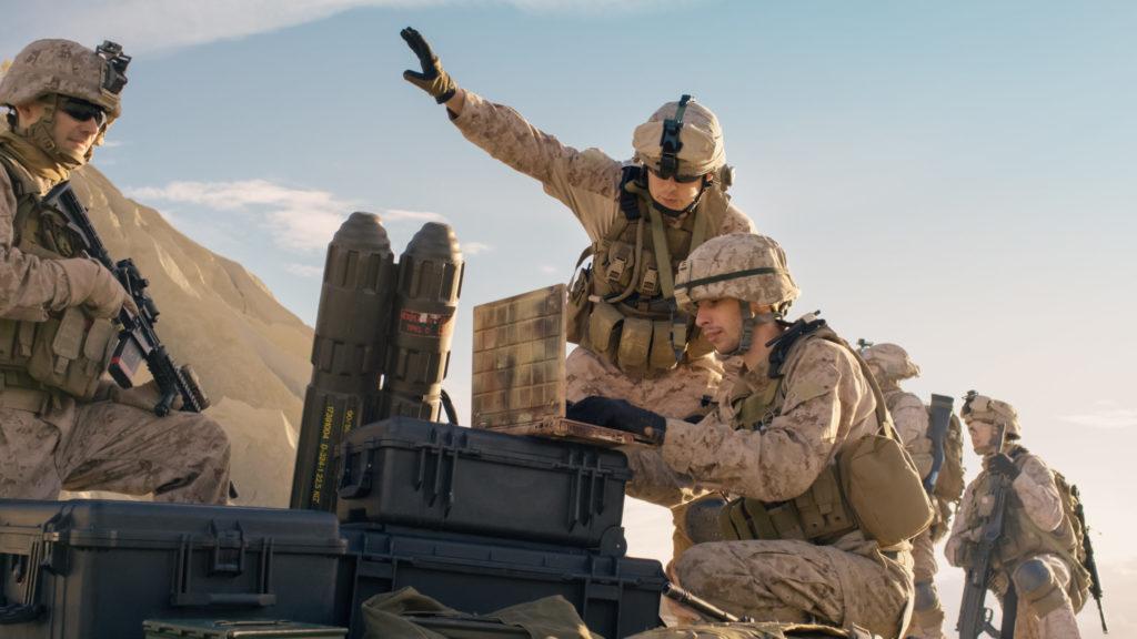 UAV Communication in tactical deployment