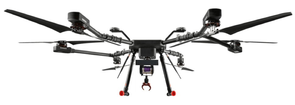 drone with delivery payload